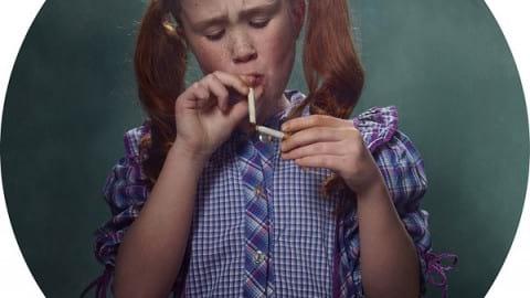 نوجوانان از والدین سیگاری الگو می گیرند!