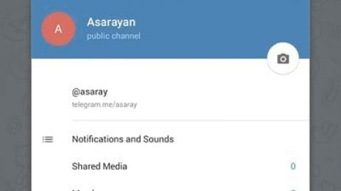 ویژگی های کانال های تلگرام