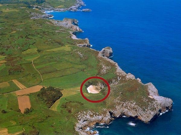 کوچکترین ساحل مخفی دنیا