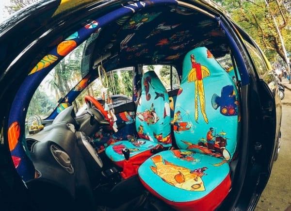 تاکسی های رنگارنگ (2)
