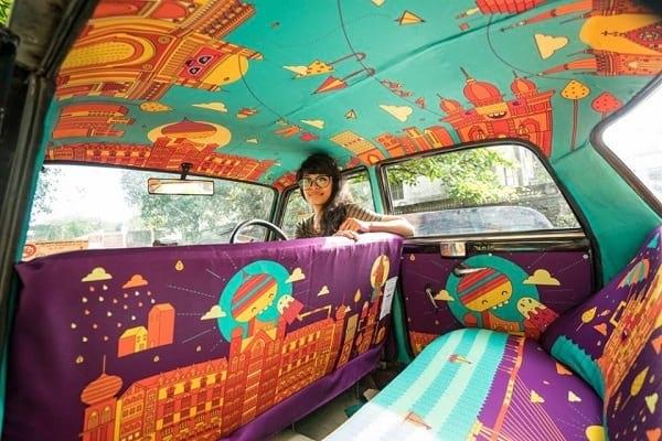 تاکسی های رنگارنگ (7)