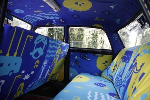 تاکسی های رنگارنگ (8)