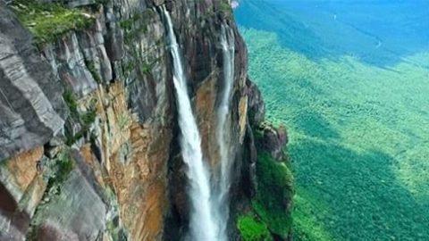 ویدیویی حیرتانگیز از آبشار آنجل، بلندترین آبشار دنیا
