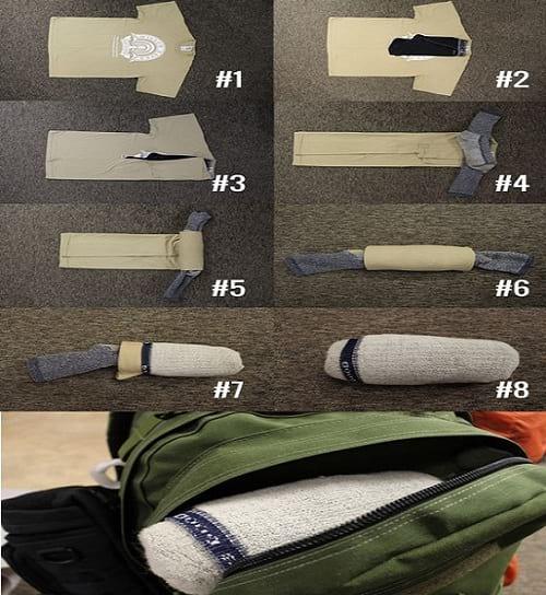 تا کردن لباس (2)