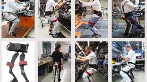 ابداع صندلی پوشیدنی برای جراحان!!