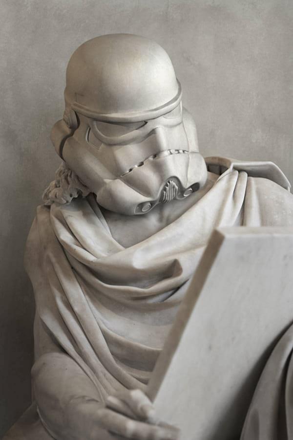 مجسمه های باستانی در عصر جدید