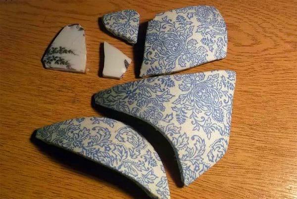مرمت گلدان شکسته (4)
