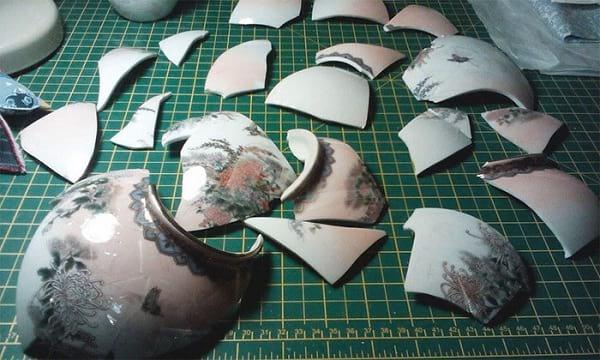 مرمت گلدان شکسته (5)