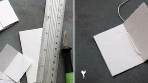 کاردستی کتابچه آویزان