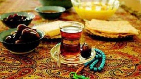 توصیه های بهداشتی در ماه مبارک رمضان