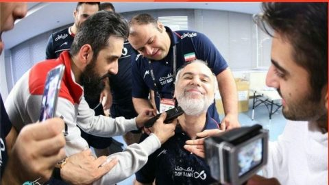 بازتاب ویژه تراشیدن ریش سرپرست والیبال ایران در سایت بازی ها