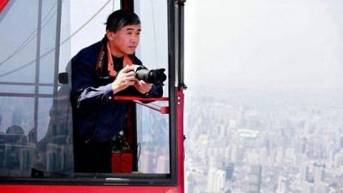شانگهای از نگاه یک اپراتور جرثقیل