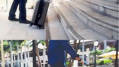 چمدان هوشمندی که دنبالتان می آید