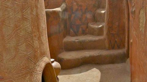 دیوارنگاری در روستاهای آفریقا
