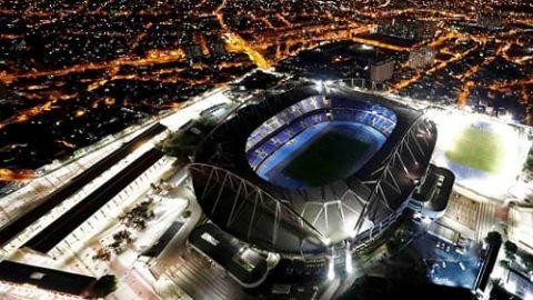 نمایی زیبا از محل برگزاری مراسم افتتاحیه المپیک!