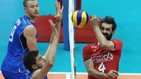 ایران بازی را به ایتالیا واگذار کرد