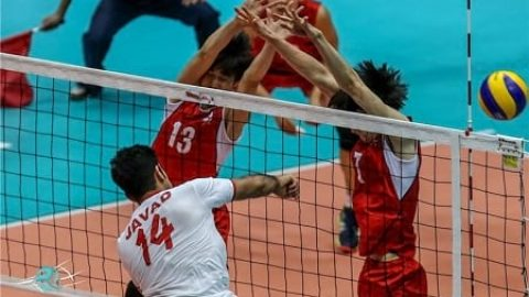 والیبال جوانان ایران قزاقستان را شکست داد