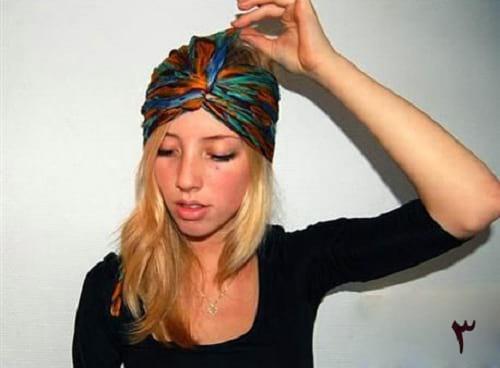 کلاه روسری (3)