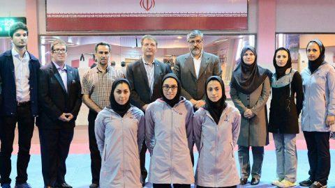بازدید حسین رفعتی دبیر کل فدراسیون جهانی تکواندو از اردوی تیم ملی تکواندو ایران