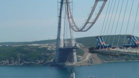 افتتاح بزرگترین پل معلق جهان در ترکیه