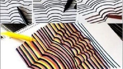 راهی ساده و آسان برای کشیدن نقاشی سه بعدی