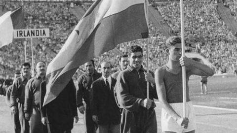 وقتی تختی پرچم دار المپیک ایران بود