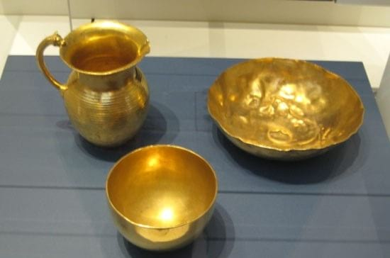 تصاویری از گنجینه جیحون در موزه های غربی