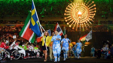 اختتامیه پارالمپیک ریو با پخش تصاویر گلبارنژاد