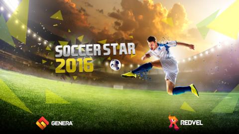 "دانلود بازی فوتبال ""Soccer Star 2016"""