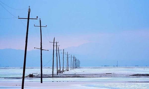 دریاچه نمک چاکا (1)