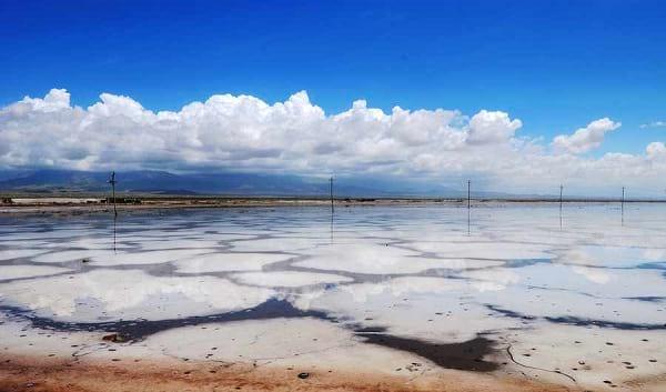 دریاچه نمک چاکا (2)