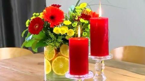 کاردستی شمع سازی در منزل