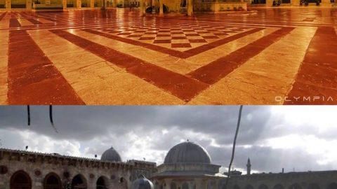 شهر حلب قبل و بعد از جنگ