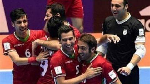 صعود تاریخی فوتسال ایران به جمع ٤ تیم برتر جهان
