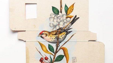پرندگانی به نشانه آزادی