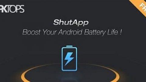 """نرم افزار افزایش عمر باتری """"ShutApp"""""""