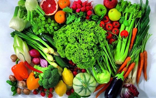 خواص میوه و سبزیجات