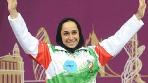 بانوی شیرازی بهترین ورزشکار زن جهان شد!