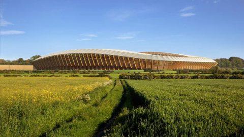 اولین استادیوم چوبی جهان