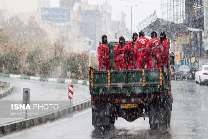 بارش برف و باران (2)