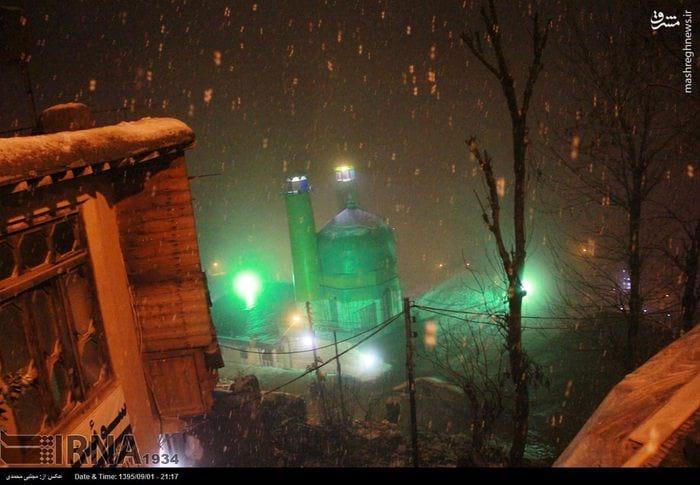 برف پاییزی در ماسوله (2)