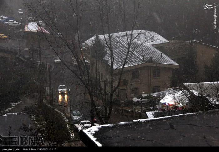 برف پاییزی در ماسوله (4)