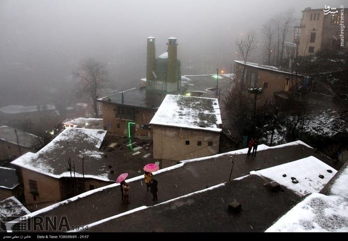 برف پاییزی در ماسوله (9)