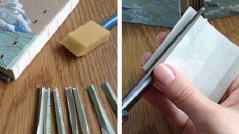 کاردستی دفترچه خاطرات