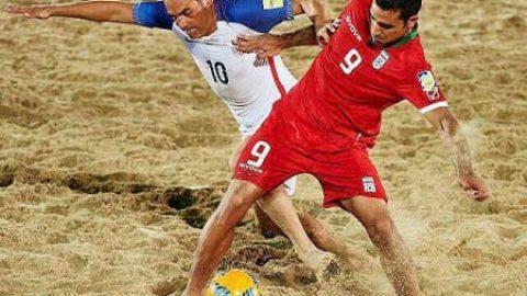تیم ملی فوتبال ساحلی ایران فینالیست جام بین قاره ای شد