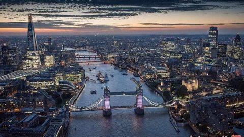 تصاویر هوایی جذاب و دیدنی از نمادهای شهر لندن
