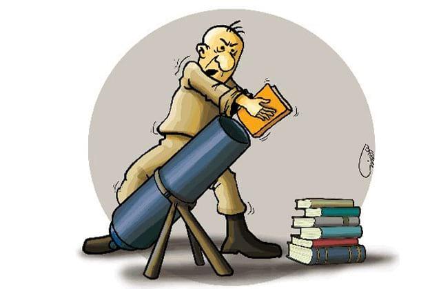تصاویر طنز به مناسبت هفته کتاب و کتاب خوانی