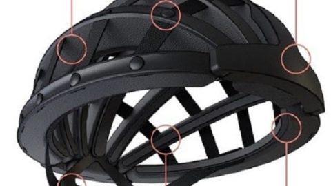 این کلاه دوچرخه سواری را در کیفتان بگذارید!
