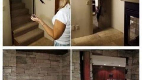 اتاق های مخفی خانه!