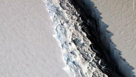 تصاویر هوایی از قطب جنوب